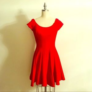 Bailey 44 Anthropologie Red Dress